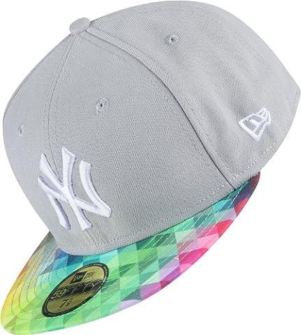 New Era Trainbow NY Yankees Cap grey/prism