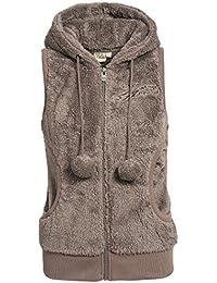 Stitch & Soul Teddy polar jacket with ears
