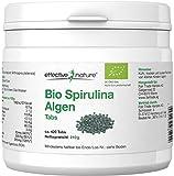 effective nature Bio Spirulina Algen Tabs - 420 Stk. - Ideal für unterwegs - Basisch - Hohe...