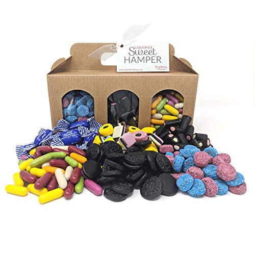 Liquorice Hamper Box - Perfect Sweet Gift for Easter, Mother's Day, Birthdays, Father's Day, Christmas