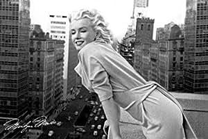 1art1 42262 Poster Marilyn Monroe Sept Ans de Réflexion 91 X 61 cm