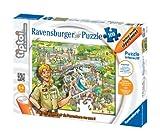 Ravensburger 00553 - Puzzle - Tiptoi Au Zoo, 100 Teile