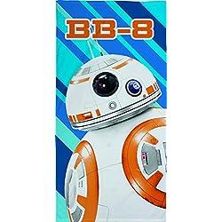 Toalla oficial Star Wars BB8 de algodón para baño y playa