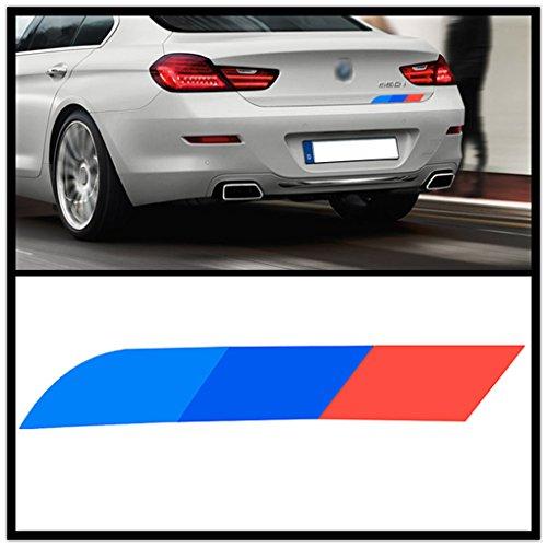 Topker Decal banda reflectante M-Pegatina color BMW