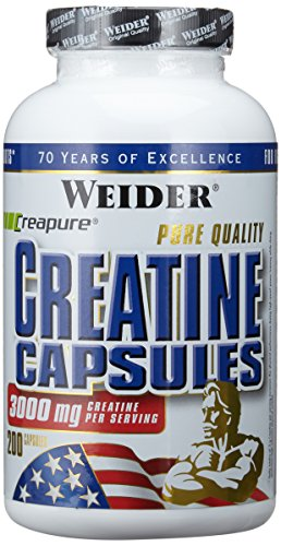Weider Pure Creatine, Neutral, 200 Kapseln (1 x 249 g)