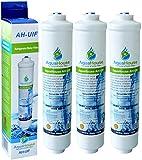 3x AquaHouse UIFA filtro compatible adapta a AEG Electrolux, Bosch, Bauknecht, Neff, Siemens, neveras con Hotpoint externa del filtro de agua DD-7098/497818