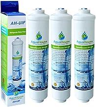 3x AquaHouse AH-UIF Filtro universal de agua para nevera compatible con Samsung LG Daewoo Rangemaster Beko Haier etc Nevera Congelador