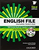 English File. Intermediate Student's Book + Workbook  + Entry Checker (con clave) (English File Third Edition) - 9780194519915