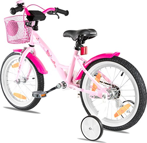 4a409ca074b PROMETHEUS Kids bike 16 inch Girls in pink purple & white with ...