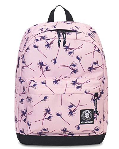25034c8ea8 Zaino invicta - carlson - pink paradise fantasia rosa - tasca porta pc  padded - americano