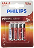 Philips Power Alkaline Batteria LR03P4B/10