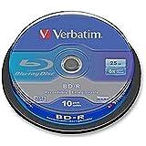 Blu Ray BD-R 6x spindle X10Blank media e RAM Optical, blu Ray, BD-R, 6x, spindle X10
