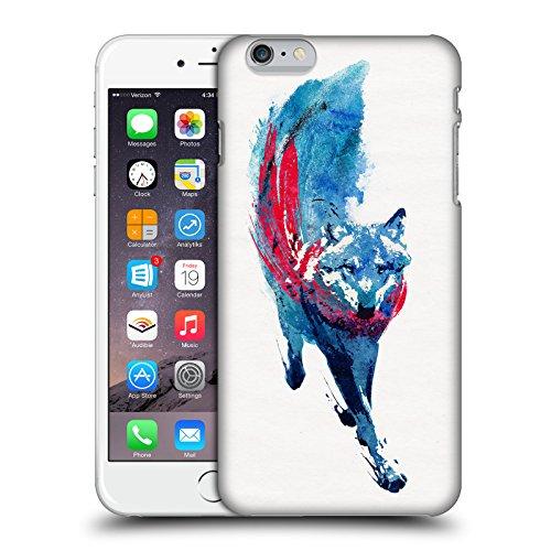 Offizielle Robert Farkas Alleine Wie Ein Wolf Tiere Ruckseite Hülle für Apple iPhone 7 Lupus Lupus