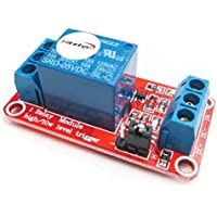HiLetgo - 2 módulos de relé de 5 V 1 canal con aislante OPTO para disparador de alto o bajo nivel