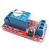 Hiletgo® 2PCS 5V 1canali modulo relè con Opto isolamento supporto alto o basso livello Trigger