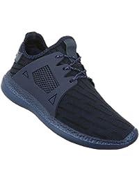 Sneakers Damen Schuhe Freizeitschuhe 10 2468 Turnschuhe Schwarz 38