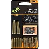Fox Edges Surefit Lead Clip Kit - 5 Clips zum Karpfenangeln, Leadclip zum Angeln auf Karpfen, Einhänger für Karpfenblei