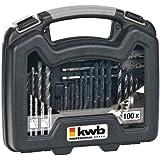 KWB Max Box 109001 Jeu de 100 forets