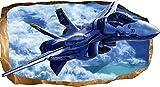Startonight 3D Carta da Parati Guerra Aereo, Murando Fotomurali Non Tessuto Stampa Fotografica Decorazione Quadri Murali Dimensioni Grande 82 x 150 cm