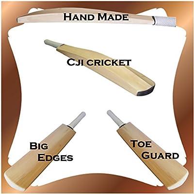 Custom Superior liso hecho a mano Inglés sauce bate de críquet 1,13kg de peso 9ozs + Perdido En