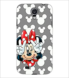 PrintDhaba Minnie Mouse D-1054 Back Case Cover for SAMSUNG GALAXY MEGA 6.3 (Multi-Coloured)