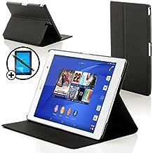 """Forefront Cases® Nueva Funda Case Cover Protectora Plegable para Sony Xperia Z3 8.0 Tablet Compact 8"""" – Función automática inteligente de Suspensión/Encendido + Lápiz óptico y protector de pantalla"""