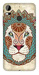 WOW 3D Printed Designer Mobile Case Back Cover For HTC M10 PRO / M10 PRO