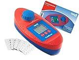 SPAR-SET - PoolScan + Refill Pack mit 60 Tabletten - Elektronischer Pooltester für Chlor und pH-Wert Messung - Poolwasser - Messgerät für den anspruchsvollen privaten Schwimmbad- und Whirlpool Betreiber (baugleich mit Scuba II ®)