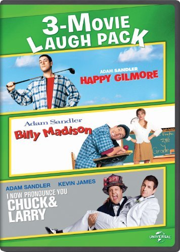 Happy Gilmore / Billy Madison / I Now Pronounce You Chuck & Larry 3-Movie Laugh Pack by Adam Sandler -