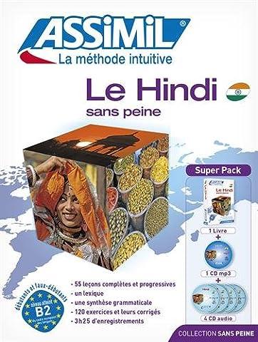 Le Hindi sans peine (livre+4CD audio+1CD