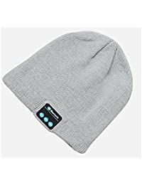 Winter Wireless Bluetooth Beanie Cap With Built- in Stereo Headphones for Running Sports | Answer calls, listen to music