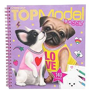 Top Model- Create Your TOPModel Doggy Colouring Book (0010190), (DEPESCHE 1)