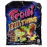 Trolli Evil Twins Gummy Candies 4.25oz Bag (Pack of 3)