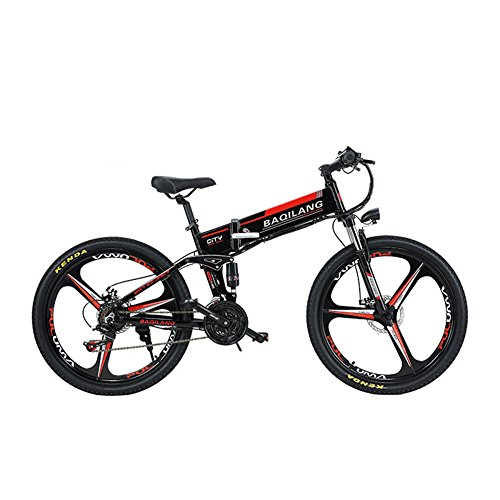 GTYW, Electric, Folding, Bicycle, Mountain, Bicycle, Adult Moped, Folding, Off-road, 26 Inch Adult, Mountain Bike, Battery Life 60KM