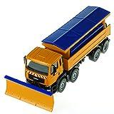 Unionup Kinder Spielzeugauto Sechs-Rad Schnee klarer Metall Engineering-Fahrzeug Diecast Truck Spielzeuge Geburtstagsgeschenke