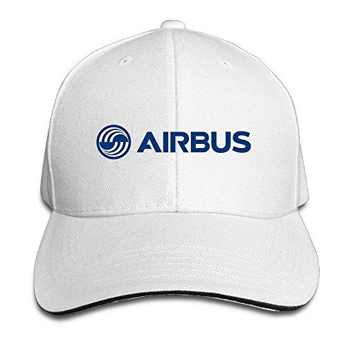 hittings-airbus-logo-blue-adjustable-caps-peaked-baseball-snapback-white