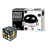 Belair Gallery Build Your Own Smart Robot - FREE Logic Cube/Puzzle Educational & Creative Thinking Set - Gift Present For Christmas Xmas Stocking Filler Birthdays Toys Games Children Boys Girls Girl