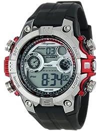 Burgmeister Armbanduhr für Herren mit Analog Anzeige, Quarz-Uhr und Silikonarmband, Wasserdichte mit zeitlosem, schickem Design - klassische, elegante Uhr für Männer - BM800-112A Digital Power