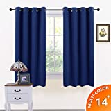 Best Blackout Curtains - Windows Treatment Eyelet Blackout Curtains - PONYDANCE Thermal Review