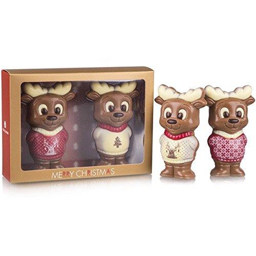 Zwei Rentiere - Schokoladenfiguren