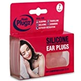 Hush 7 Pairs Plugz Silicone Earplugs - Pack of 7
