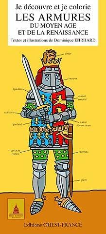 Je découvre et je colorie les armures du Moyen Age