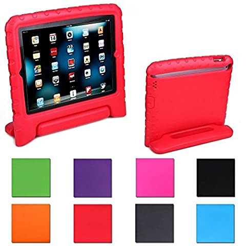Aken Multi Function Child / Shock Proof Kids Cover Case with Stand / Handle for Apple iPad 2nd / 3rd / 4th Generation Tablet (iPad 2/3/4)