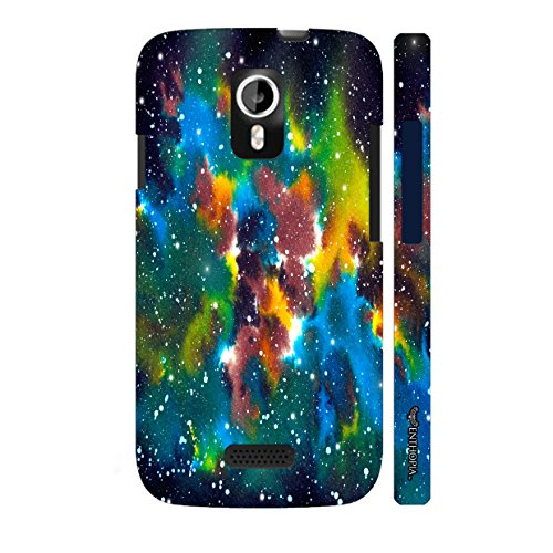 Enthopia Designer Hardshell Case Multiple universe Back Cover for Micromax A116 Canvas HD  available at amazon for Rs.95