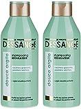 Dessange - Douce Argile Shampoing Régulateur Pour Racines Grasses Et Pointes Sèches - 250 ml - Lot de 2