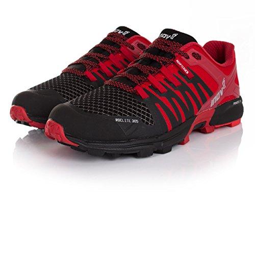 Inov Nero 305 Di 8 Uomini Sport Roclite Gli Scarpe Rosso Nuove Corsa Per Da xxUw7vr