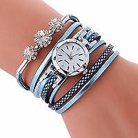 Gaddrt Damen-Armband-Diamant-Kreis-Uhr-Studenten-Mode-Tabelle Uhren