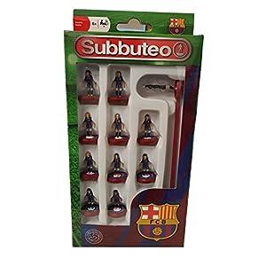 Paul Lamond 3407 Subbuteo Barcelona FC – Juego de Equipo
