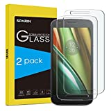 [ 2 Pack ] Moto E3 Screen Protector, SPARIN Tempered Glass Screen Protector For Motorola Moto E3, [Bubble Free installation] [Lifetime Warranty] Motorola Moto E3 Glass Screen Protector