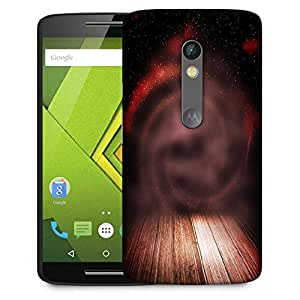 Snoogg Abstract Studio Backdrop Designer Protective Phone Back Case Cover For Moto G 3rd Generation